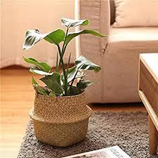 BELLYANA <b>Seagrass</b> Woven Multi Functional <b>Storage Basket</b> ...