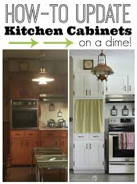 kitchen cabinet door trim: how to update kitchen cabinets on a dime myblessedlifenet