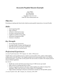 sample accounts payable resume template resume sample information sample resume template for accounts payable professional experience