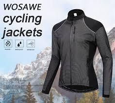 <b>WOSAWE</b> Men's <b>Cycling Jacket</b> Winter Thermal Warm UP Fleece ...