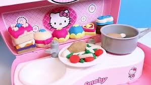 Hello Kitty Toy <b>Kitchen</b> HK <b>Mini Kitchen Play Set</b> Cocinita de Hello ...
