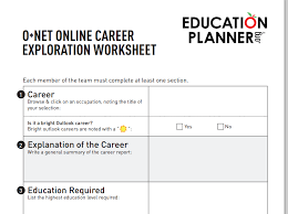 guidance news that you can use   college and career day  pheaa o net online career exploration worksheetpng