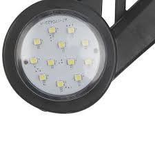 <b>1 Pair 12V</b> 24V <b>Truck</b> Trailer LED Elbow <b>Side</b> Marker Lights Stop ...