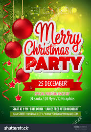 christmas party flyer vector template 229747273 shutterstock christmas party flyer vector template preview save to a lightbox