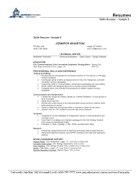 skills and abilities resume examples resume badak resume samples skills section