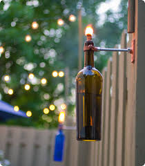 outdoor torch lighting. tiki brand recommends that the wick never be set higher than 1inch and i recommend you exercise same discretion common sense outdoor torch lighting