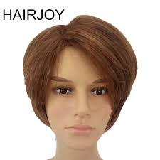 <b>HAIRJOY Man Women Layered</b> Synthetic Hair Wig Short Natrural ...