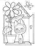 Раскраска котят игра