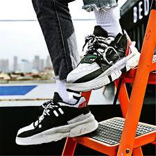 <b>Men's thick</b>-<b>soled casual</b> wild trend <b>sneakers</b> – ChicMay   Trending ...