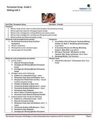 persuasive essay lessons for th grade   essaypersuasive essay lessons for th grade general writing tips