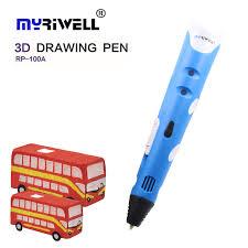 <b>Myriwell 1st</b> generation <b>3d pen</b> model ABS Smart <b>3D Pen</b> Drawing ...