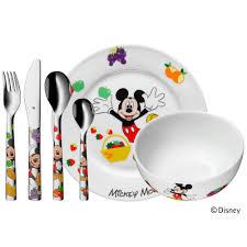 Children's cutlery set, 6-<b>piece MICKEY</b> MOUSE