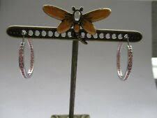 <b>Серьги кольца Swarovski</b> — купить c доставкой на eBay США