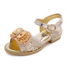 Sandals Girl Soft Soled Sandal Leather School Shoes <b>Fashion</b>