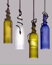 diy wine bottle pendant lights wine bottle pendant kit awesome designing clear glass mini pendant lights
