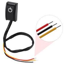 Button Paste DIY <b>200mA</b> Switch Switch <b>ON/OFF</b> Sticky Car <b>12V</b> ...