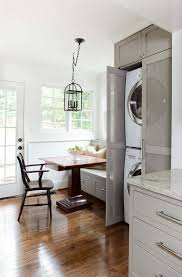 kitchen solution traditional closet: stackable washer dryer kitchen traditional with antique furniture antique island