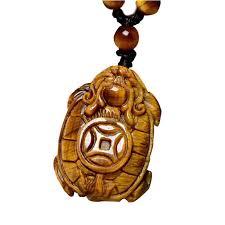 <b>Drop Shipping</b> Tiger Eye Stone Pendant Hand Carved Money Turtle ...