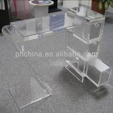 jad 269 crystal lucite acrylic office deskacrylic desk with drawersplexiglass furniture acrylic office desk