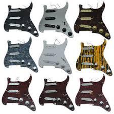 <b>KAISH Loaded Strat</b> SSS <b>Prewired</b> Pickguard for Fender <b>Various</b> ...