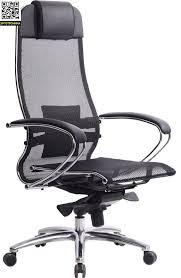Эргономичное <b>офисное кресло МЕТТА Samurai</b> S-1 (Чёрный ...