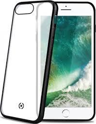 <b>Клип</b>-<b>кейс Celly Laser Matt</b> iPhone 8 Plus Black - цена на Клип ...