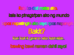 Tagalog Love Messages for Girlfriend Messages, Greetings and ... via Relatably.com