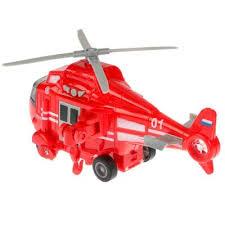 Коллекционная металлическая <b>модель</b> Пожарный <b>вертолет</b> ...