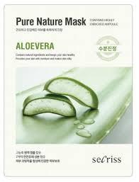 Anskin <b>маска тканевая</b> Secriss Pure <b>Nature</b> Mask Pack Aloevera ...