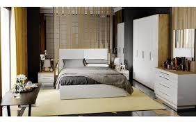 <b>Спальня</b> «<b>Квадро</b>» (Бунратти/Белый глянец) - купить в интернет ...