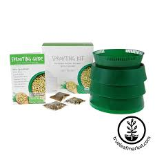 Kitchen Garden Sprouter Sprouter Garden By Handy Pantry Stackable Tray Sprouting System
