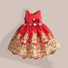 2016 new year latest design baby girls dresses sleeveless princess dresses for kids wedding dresses fashion baby girl dress designs