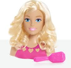 <b>Barbie</b> Mini Blonde Styling <b>Head</b> Маленькая <b>Голова</b> Манекен для ...