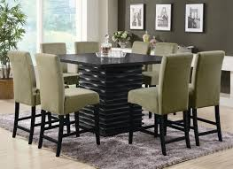 black kitchen dining sets: bar height dining table black counter height dining table com bar black dining room set dining room rugs pub height dining tables and counter height dining room sets