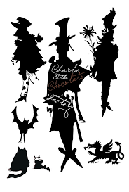 charlie and the chocolate factory childhood bedtime stories charlie and the chocolate factory and other silhouettes