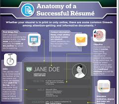 infographic  a comprehensive job seeker    s guide to crafting the    infographic  the anatomy of a successful résumé