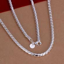 Ожерелье из серебра 925 пробы, модное <b>серебряное колье</b> 925 ...