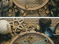 Ручная вышивка: лучшие изображения (13) | Корзина из ткани ...