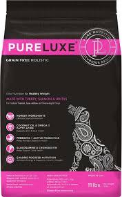 <b>Корм сухой PureLuxe для</b> нормализации веса собак с индейкой ...