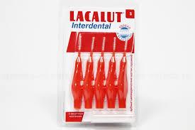 Lacalut <b>Интердентал межзубные</b> цилинд щетки (<b>ершики</b>) р-р S N ...
