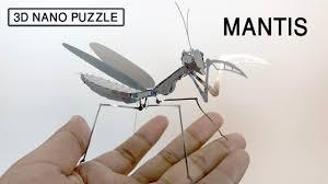 <b>3D Metal</b> Model Kit - <b>Insect</b> Praying Mantis - YouTube