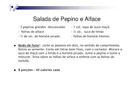 Resultado de imagem para IMAGENS DE RECEITAS DE SALADAS