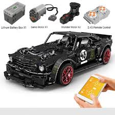 Mould King 13108 2943pcs <b>Technic</b> RC Ford Mustang Hoonicorn ...
