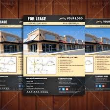 for lease commercial property listing template real estate lead for lease flyer 2