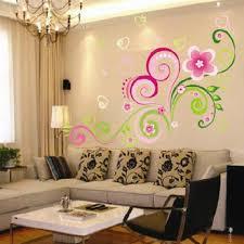 multicolor diy wall mural decal wall stickers flowers home office wall sticker decor vinyl art free aliexpresscom buy office decoration diy wall