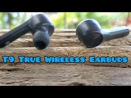 <b>T9 TWS Bluetooth</b> 5.0 Touch Controls stereo twin wireless deep ...