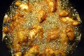 Image result for making fried chicken