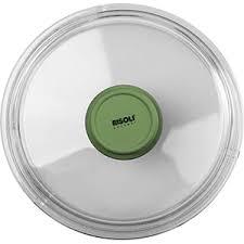 Крышка д/<b>сковороды</b> «Д.Грин»; стекло; <b>D</b>=<b>20см</b>; прозр.,зелен.