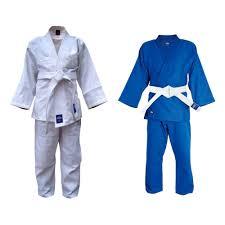 <b>Кимоно Дзюдо</b> MA-302 Грин Хилл белое / синее тренировочное ...