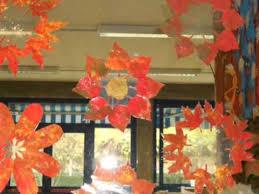 Decorazioni Finestre Scuola Primaria : Castagnata e lavoretti autunno